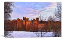 Brancepeth Castle, Canvas Print