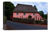 Rose Cottage, Canvas Print