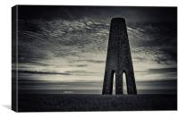 Daymark Tower, Canvas Print