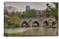 River boat, Canvas Print