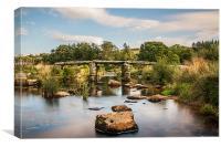 Clapper Bridge, Canvas Print