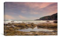 Rock Pool, Canvas Print