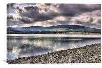 Catcleugh Reservoir, Canvas Print