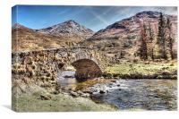 The Butter Bridge, Canvas Print