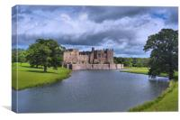 Raby Castle 1, Canvas Print