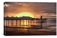 Paignton Pier 1                                   , Canvas Print