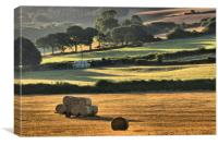Summer view 1                                    , Canvas Print