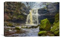 Gibson`s cave, Canvas Print