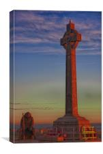 Tommy and Cenotaph, Canvas Print