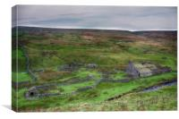Wolf Cleugh Farm 1, Canvas Print