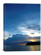 Gulf of Thailand Sunset, Canvas Print