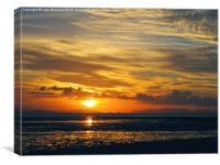 Whitsunday Sunset, Canvas Print
