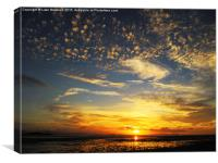 Whitsunday Sunset 2, Canvas Print