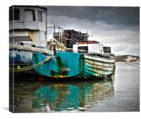 Fishing Boats, Canvas Print