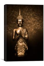 Praying For Luck, Canvas Print