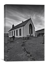 Amulree Church, Perthsire, Canvas Print