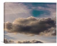 Cloud Art, Canvas Print
