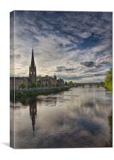 Perth City,Scotland, Canvas Print