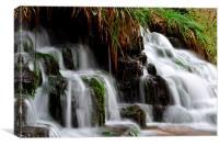 Cladagh Glen Waterfalls, Canvas Print