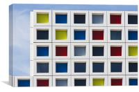 Mondrian, Canvas Print