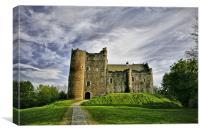 Doune Castle Stirlingshire, Canvas Print