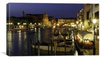 Grand Canal Venice 2012, Canvas Print