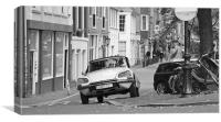 Citroen DS in Amsterdam, Canvas Print