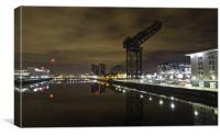 The Finnieston Crane, Glasgow, Canvas Print