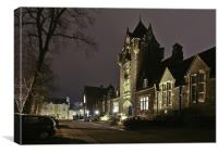 Old School Building, Stirling, Canvas Print