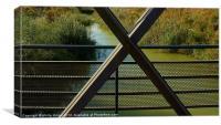 Looking Through The Bridge, Canvas Print