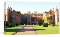 Charlecote Park House, Canvas Print