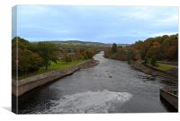 The River Tummel, Canvas Print