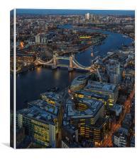 Tower Bridge Skyline, Canvas Print