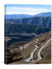 Atacama Desert Road, Canvas Print