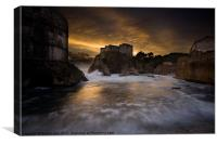 Dubrovnik Sunset, Canvas Print