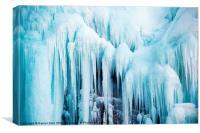 World of Ice, Canvas Print
