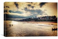 Stormy Southwold, Canvas Print