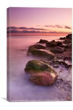 A sunrise at Lahijan shore