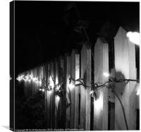 Fence, Canvas Print