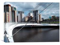 Scenic Newcastle, Canvas Print