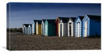 Beach Huts, Canvas Print