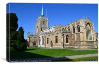 chelmsford cathedral in essex, Canvas Print