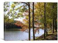 Fall Lake, Canvas Print