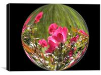 Rose Globe, Canvas Print