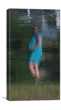 Reflection Of Motherhood, Canvas Print
