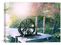 Water Wheel, Canvas Print