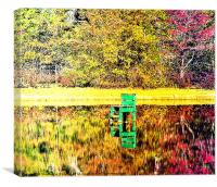 Relections of Fall, Canvas Print