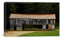 The Old Tool Shed, Canvas Print