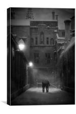 Twilight Whiles 2.5, Canvas Print