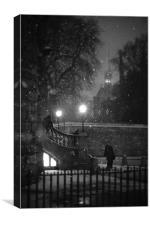 Twilight Whiles 1.1, Canvas Print